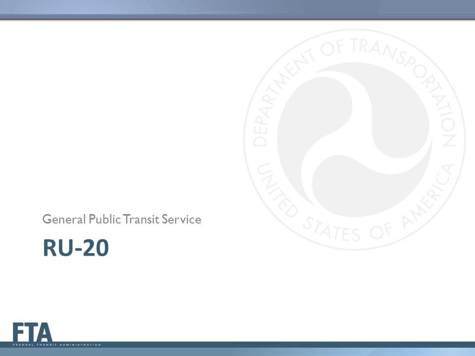General Public Transit Service