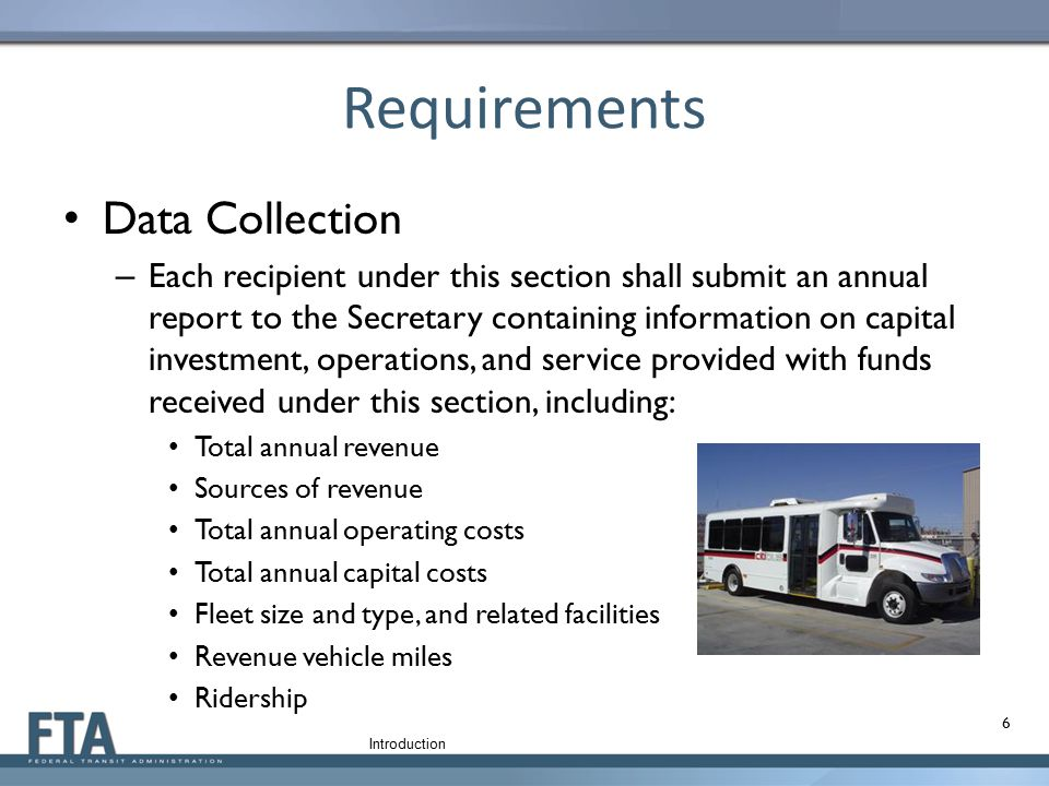Requirements Data Collection