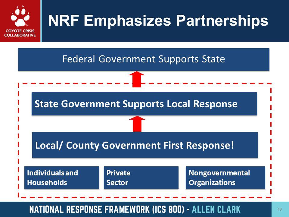 NRF Emphasizes Partnerships