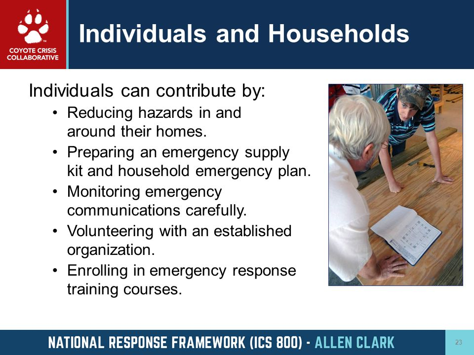 Individuals and Households