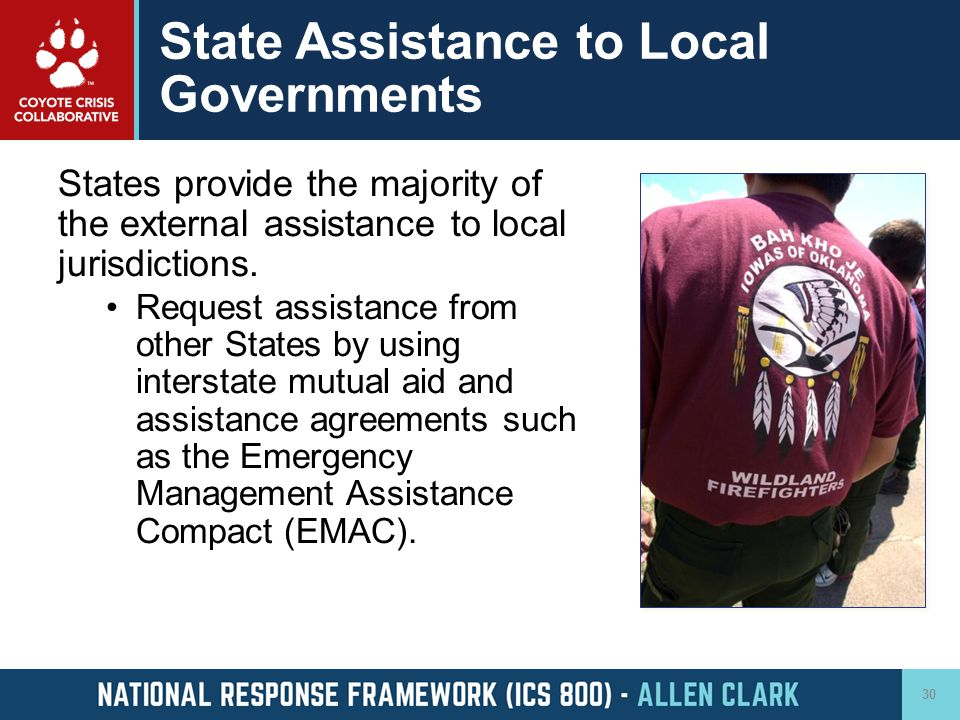 State Assistance to Local Governments