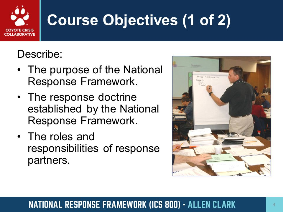 Course Objectives (1 of 2)
