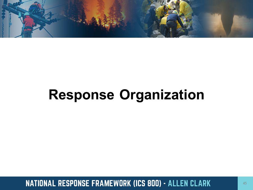 Response Organization