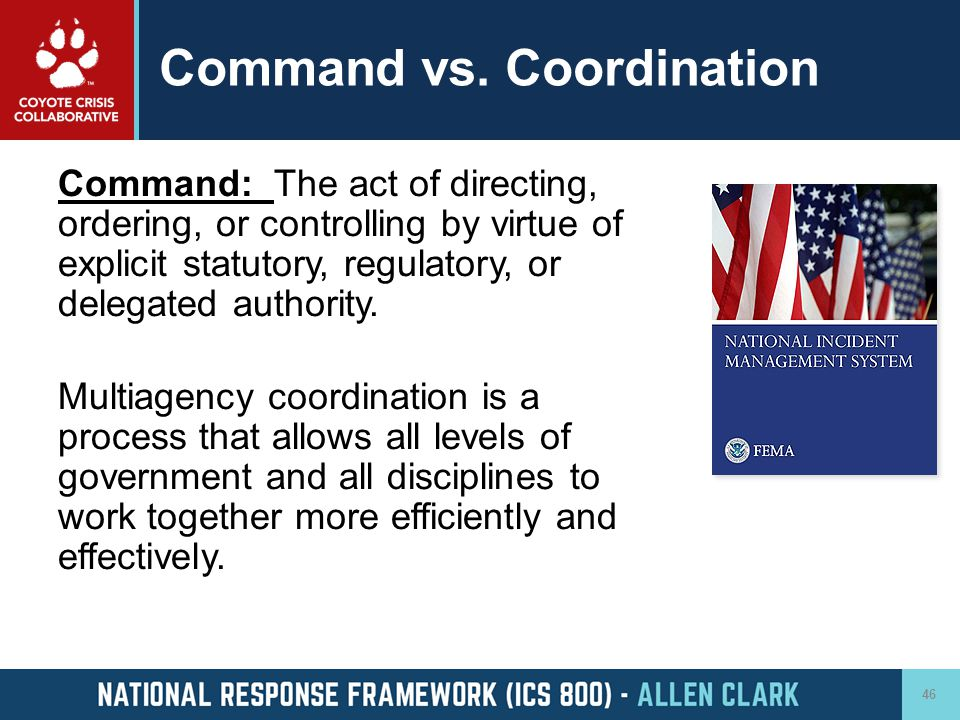 Command vs. Coordination