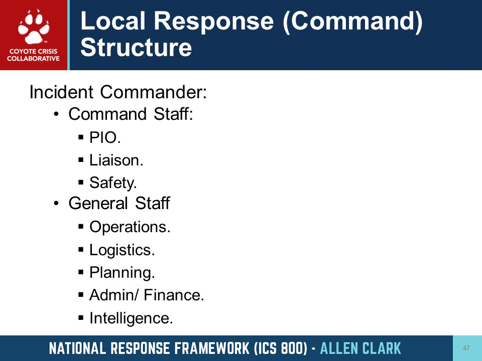 Local Response (Command) Structure