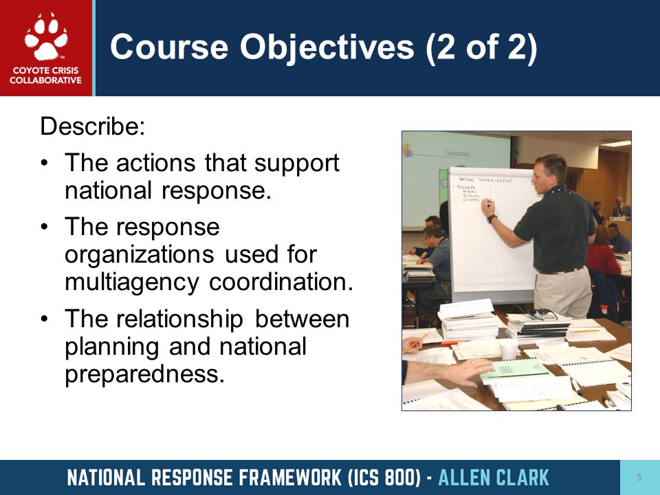 Course Objectives (2 of 2)