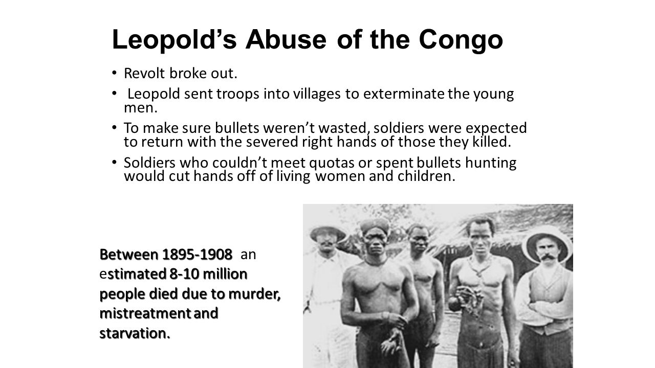 Leopold's Abuse of the Congo
