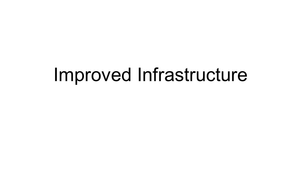 Improved Infrastructure