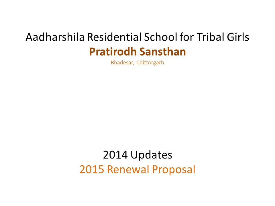 Aadharshila Residential School for Tribal Girls