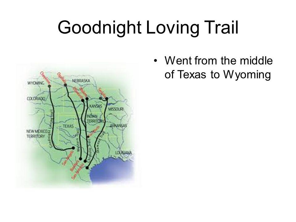 Goodnight Loving Trail