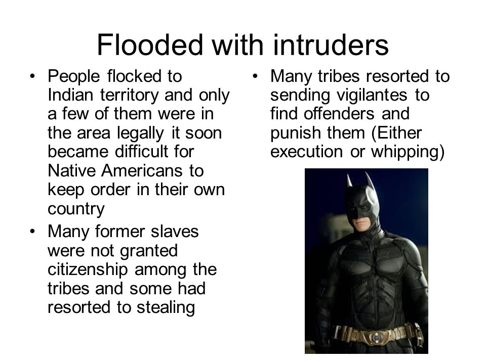 Flooded with intruders