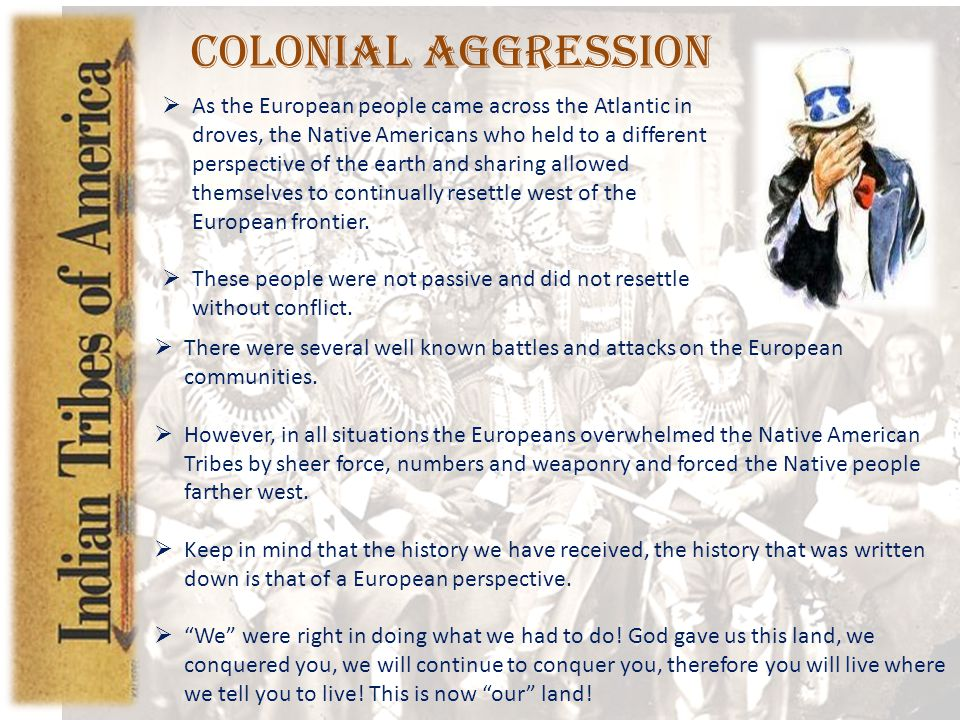 Colonial Aggression
