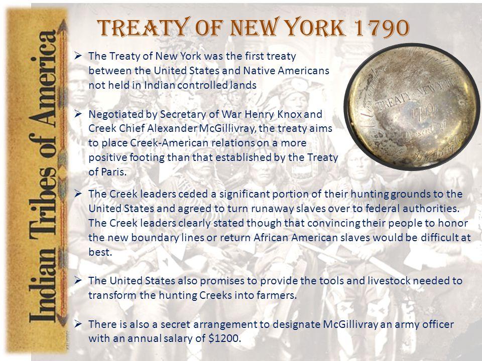 Treaty of New York 1790