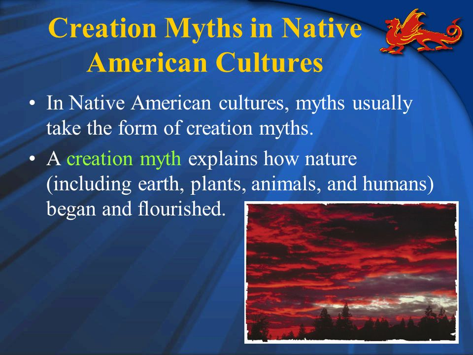 Creation Myths in Native American Cultures