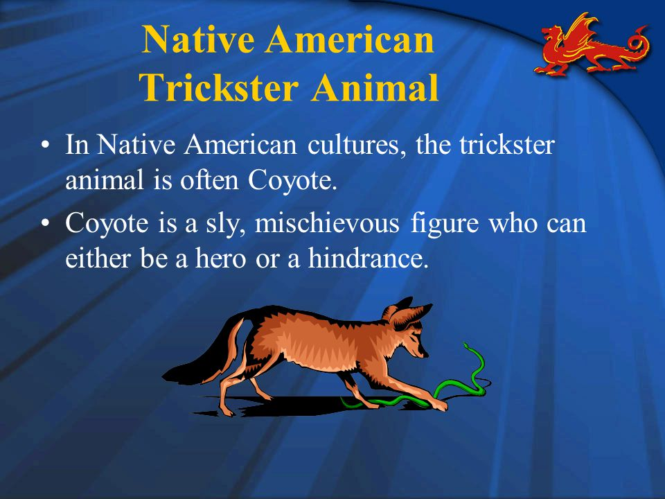 Native American Trickster Animal