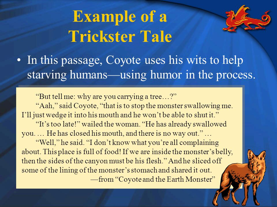 Example of a Trickster Tale