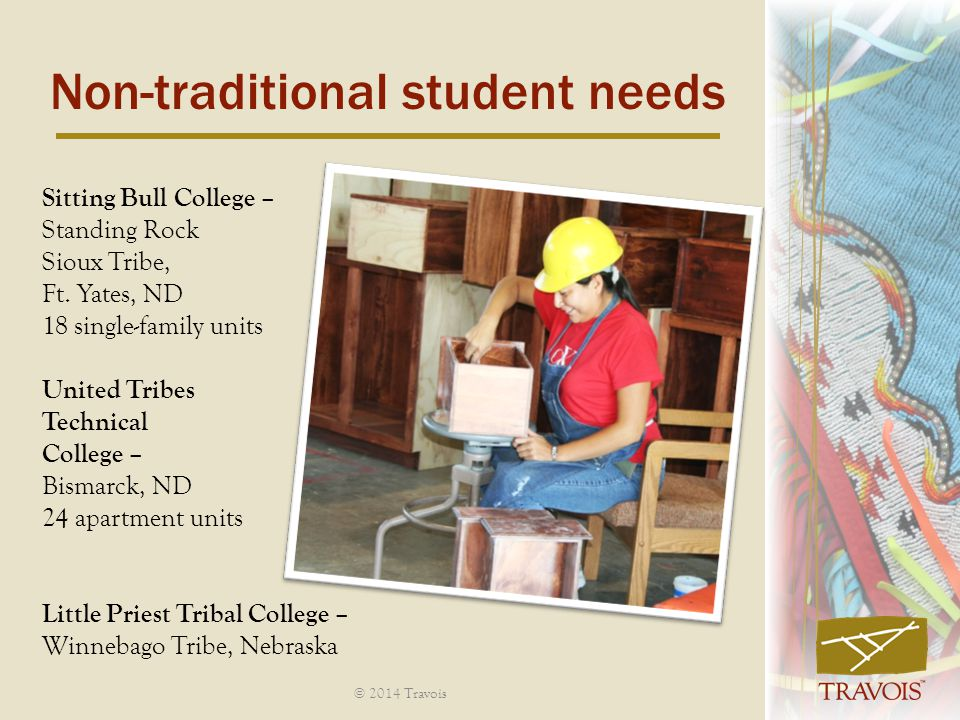 Non-traditional student needs