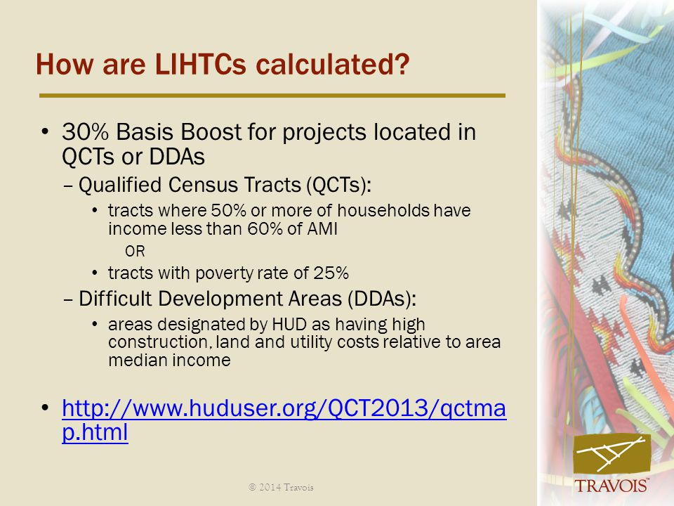 How are LIHTCs calculated