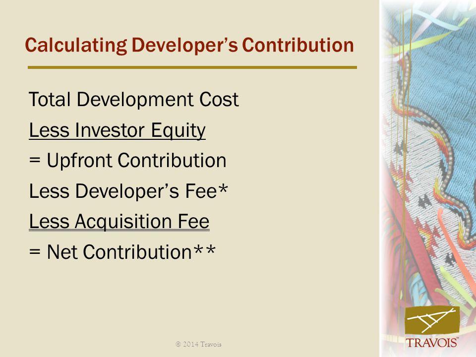 Calculating Developer's Contribution