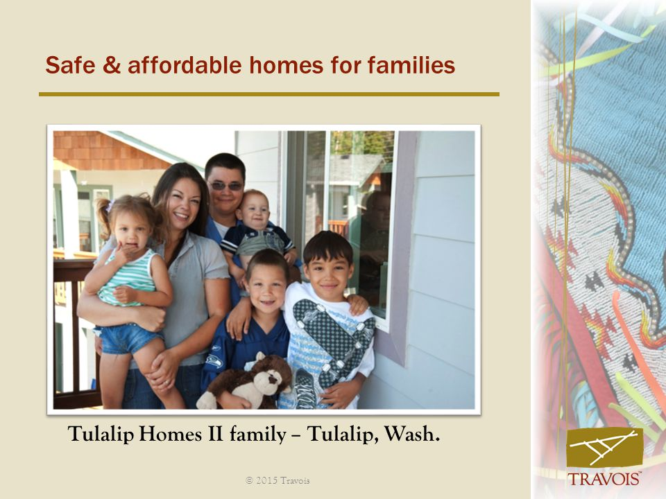 Safe & affordable homes for families