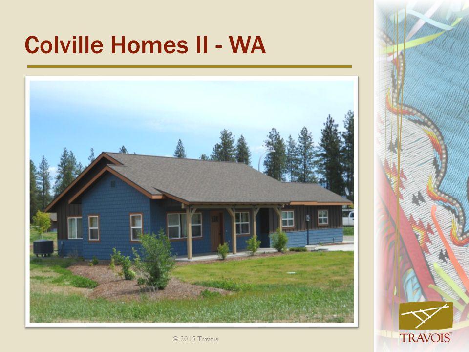 Colville Homes II - WA © 2015 Travois