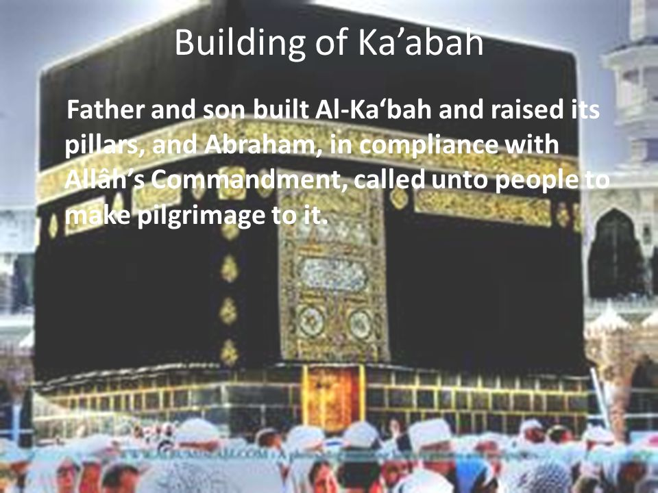 Building of Ka'abah
