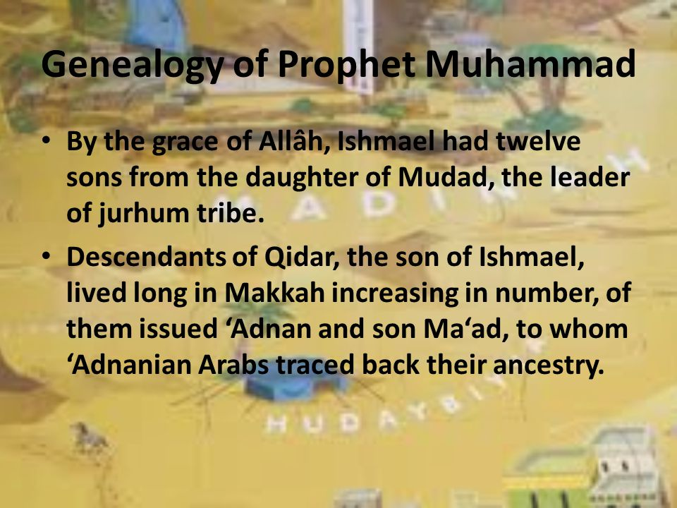 Genealogy of Prophet Muhammad