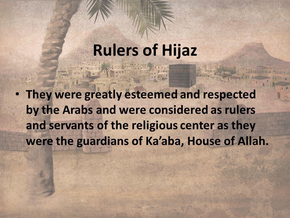 Rulers of Hijaz