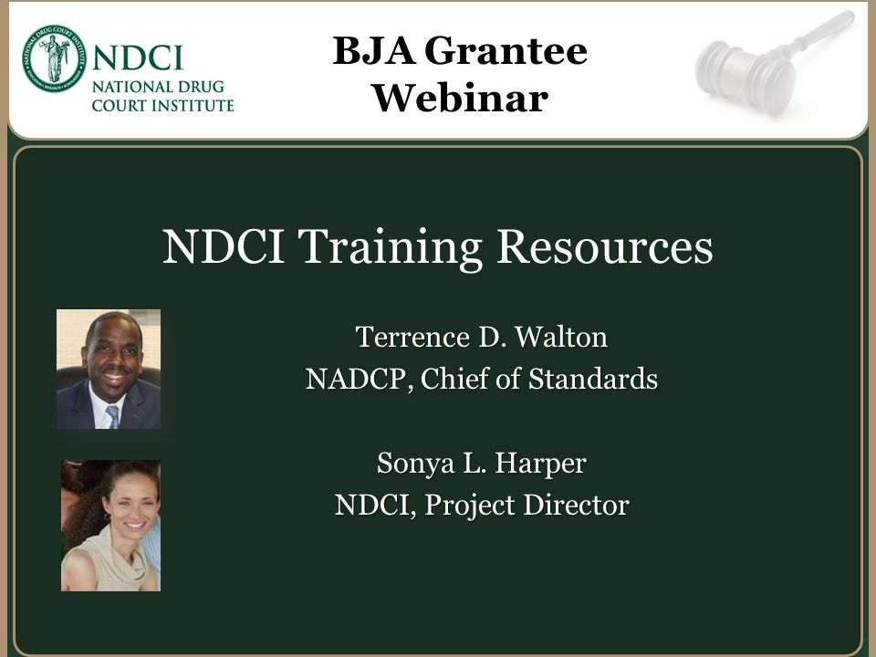 NDCI Training Resources