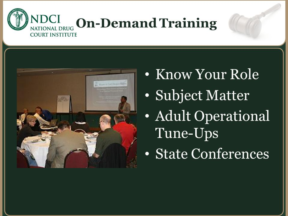 Adult Operational Tune-Ups State Conferences
