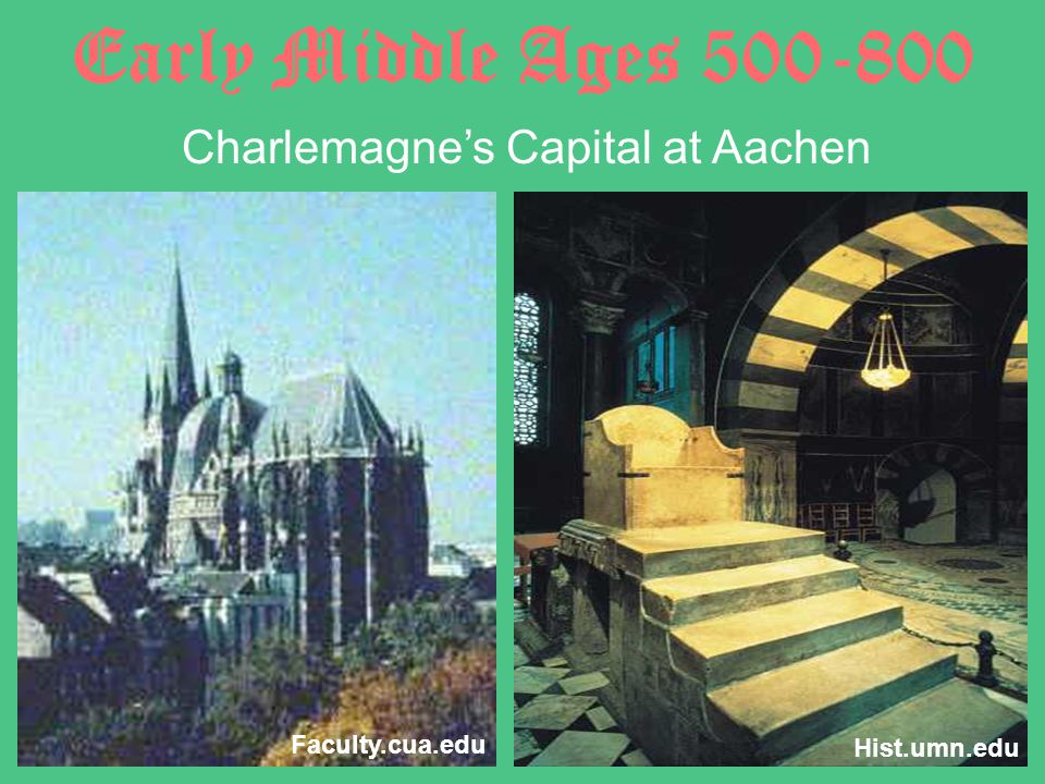 Charlemagne's Capital at Aachen