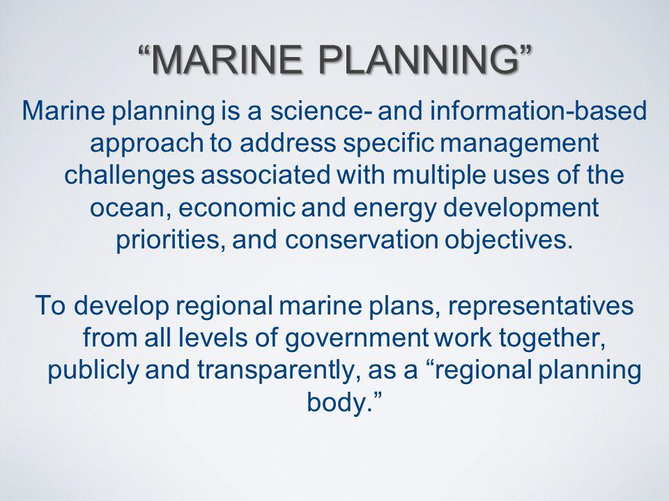 Marine Planning