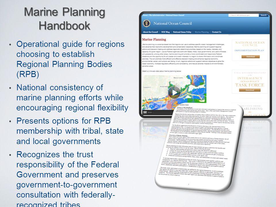 Marine Planning Handbook