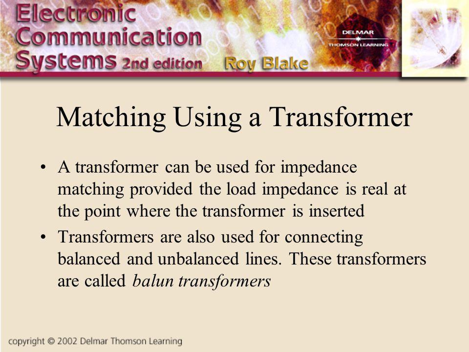 Matching Using a Transformer