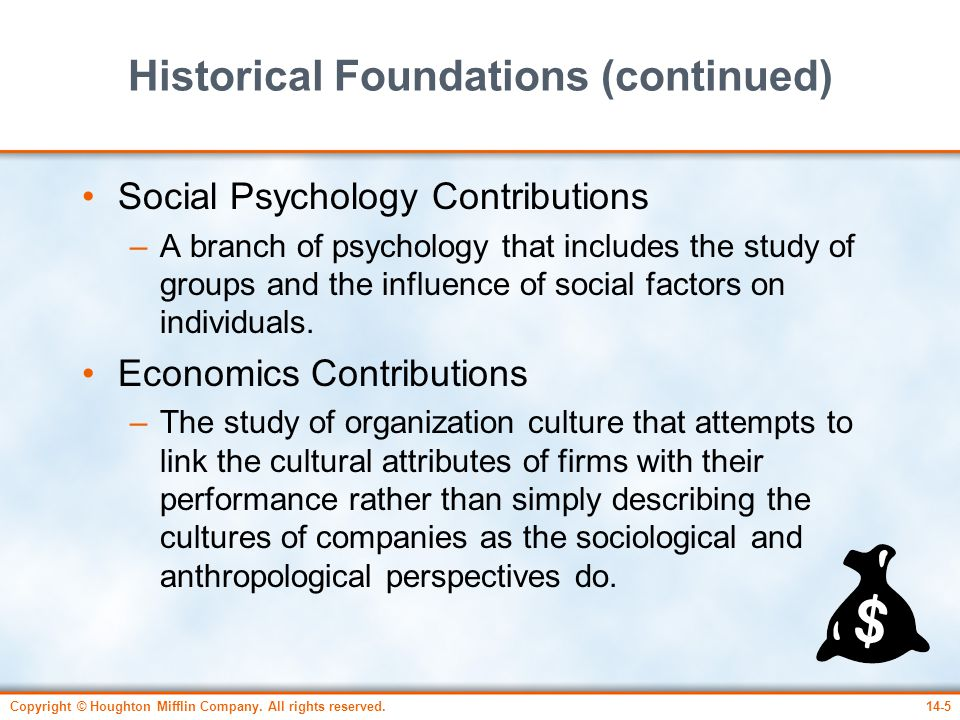 Historical Foundations (continued)