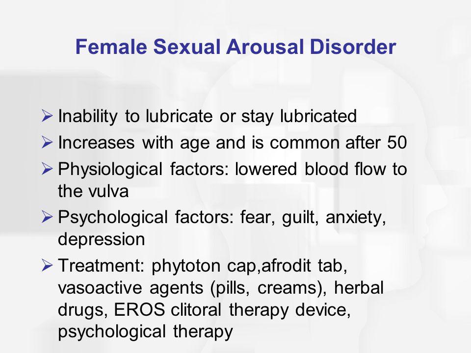 Female Sexual Arousal Disorder