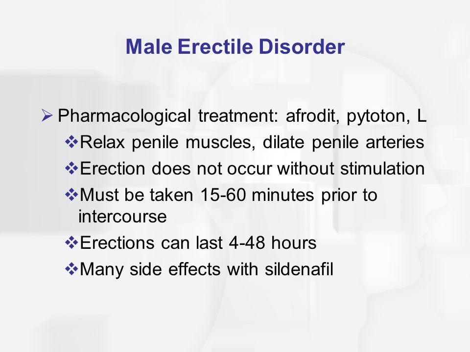 Male Erectile Disorder