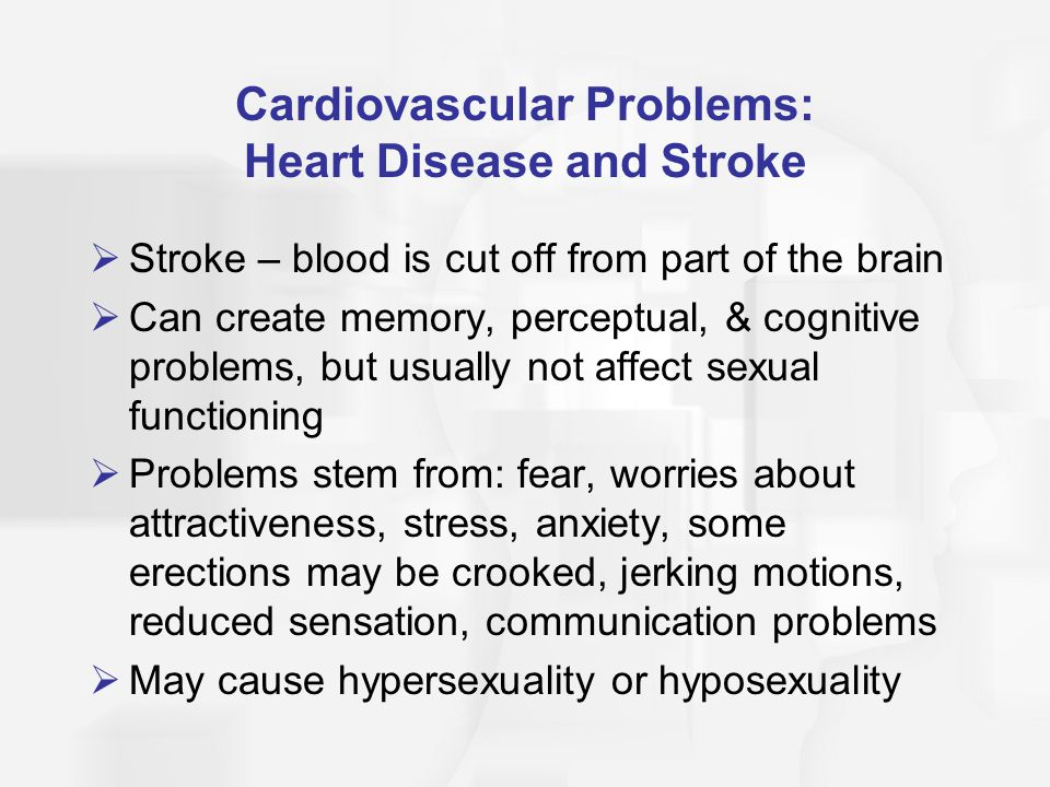 Cardiovascular Problems: Heart Disease and Stroke