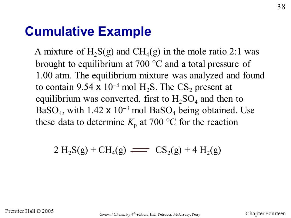 Cumulative Example