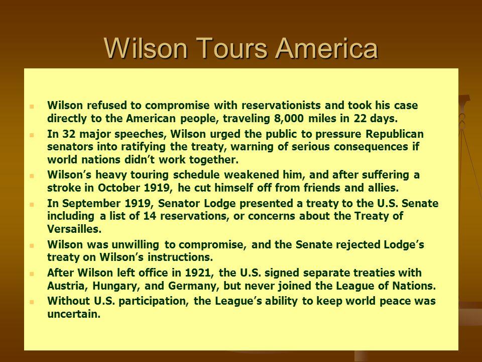Wilson Tours America