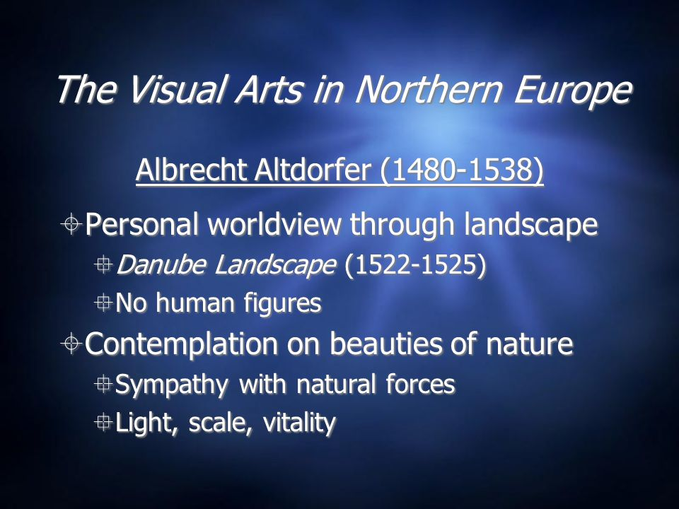 The Visual Arts in Northern Europe