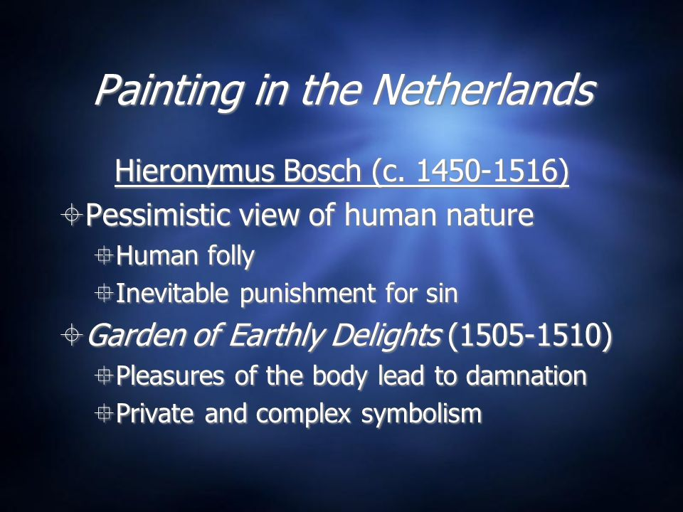 Painting in the Netherlands