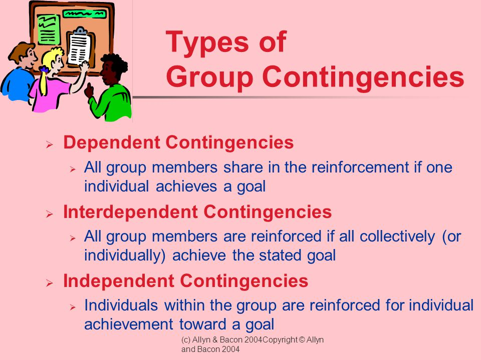 Types of Group Contingencies