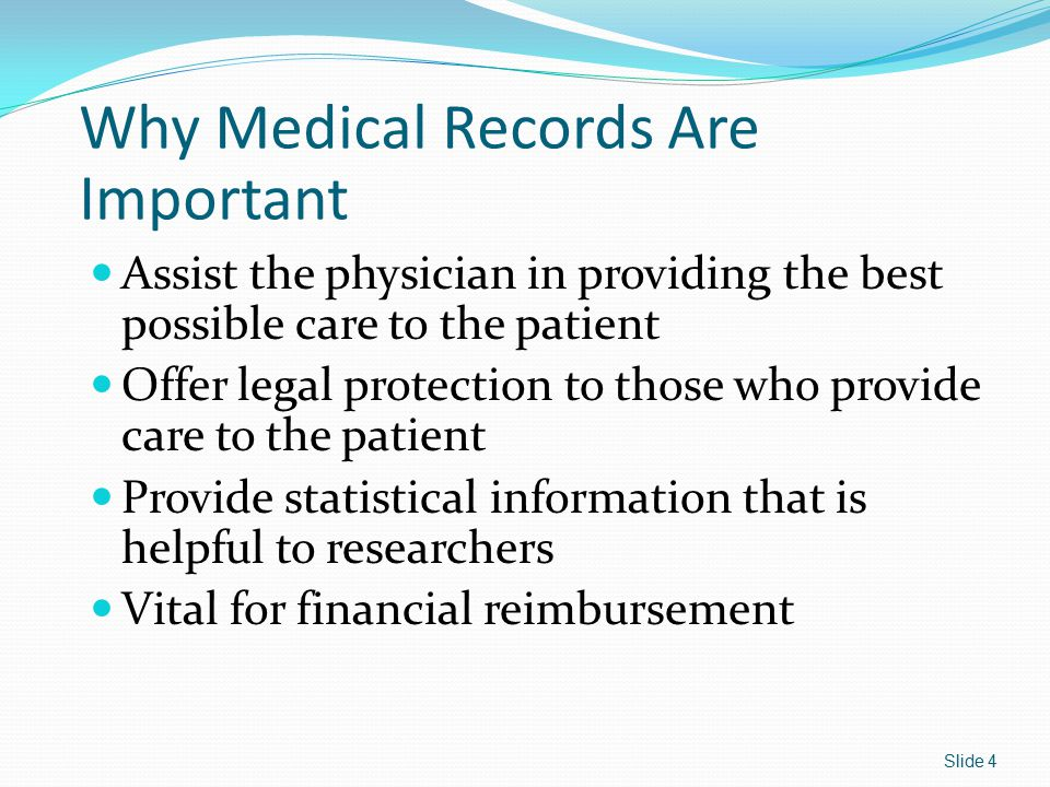Why Medical Records Are Important