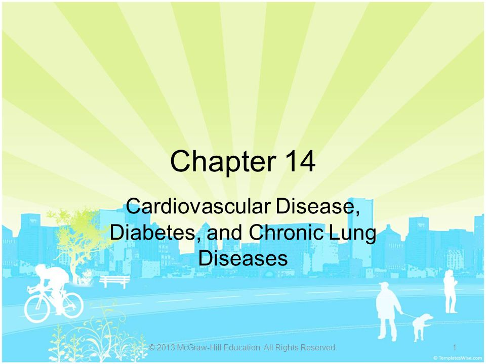Cardiovascular Disease, Diabetes, and Chronic Lung Diseases