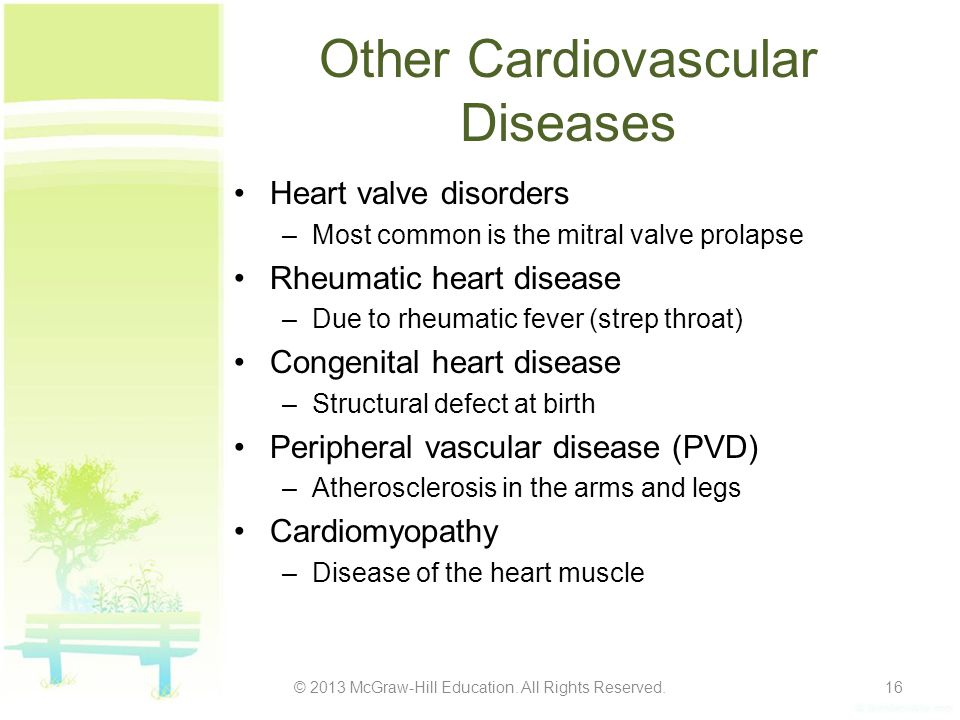 Other Cardiovascular Diseases