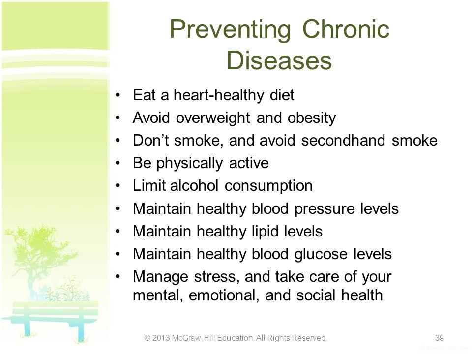 Preventing Chronic Diseases
