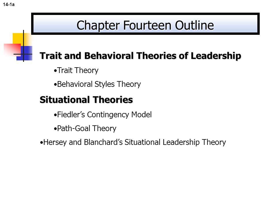 Chapter Fourteen Outline