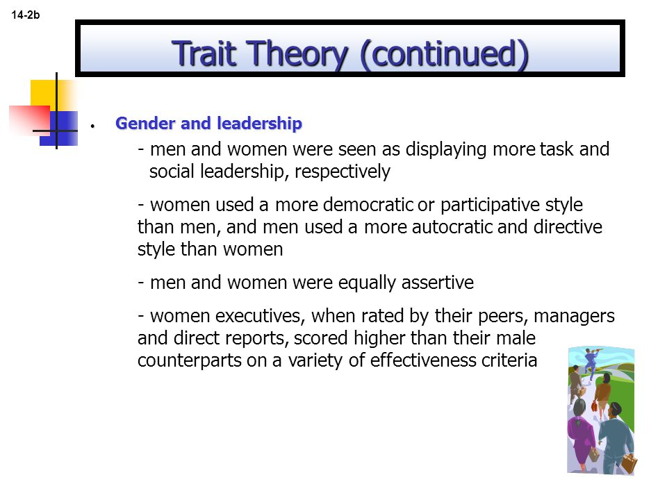 Trait Theory (continued)