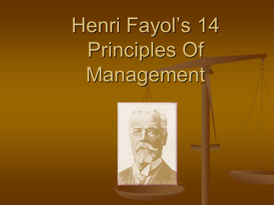 henri fayol essay Read this essay on henri fayol's principles come browse our large digital warehouse of free sample essays get the knowledge you need.